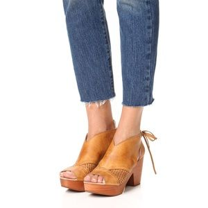 Free People Revolver Clog in Cognac